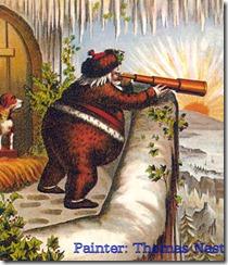 Santa by Tomas Nast