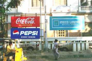 Pepsi is everywhere
