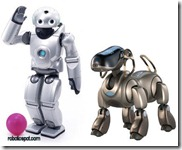 Sony Qrio and Aibo