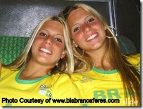 Bia and Branca Feres1