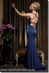 evening dress by John Charles