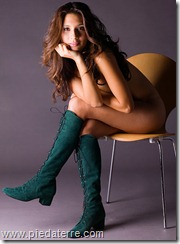 suede boots by Pied a Terre