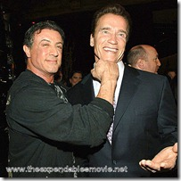 Stallone and Schwarzenegger