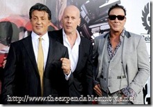 Stallone, Willis and Rourke