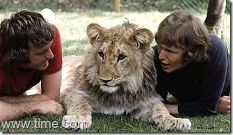 John Rendall, Christian the lion, and Anthony