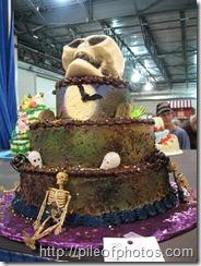 Halloween big cakes