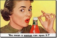 vintage-women-ads-alcoa-Delmonte-Ketchup