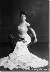 1900 Camille Clifford