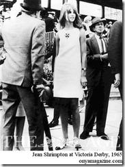 Jean Shrimpton at Victoria Derby