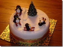 Penguins-cake