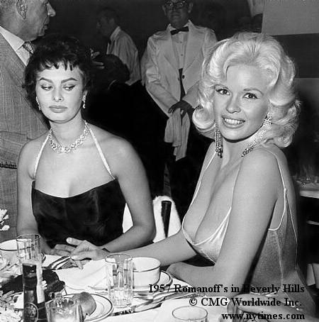 Sophia Loren & Jayne Mansfield