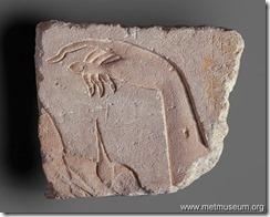 Akhenaten hand