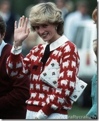 Princess-Diana-sheep-cardigan