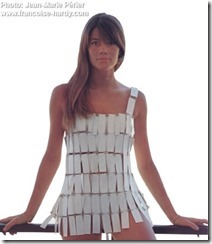 Francoise Hardy in Swimsuit by Pierre Cardin