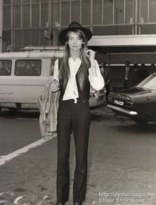 Francoise Hardy streetstyle