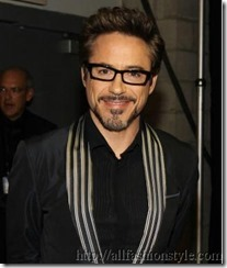 Robert Downey Jr. in glasses