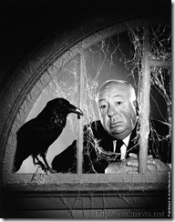 Alfred Hitchcock and Raven