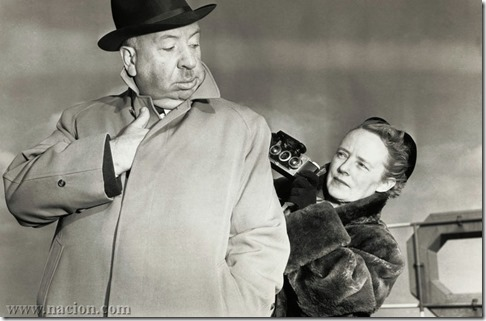 Alma Reville and Alfred Hitchcock
