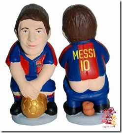 Caganer Messi