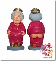 Caganer Queen Elizabeth II
