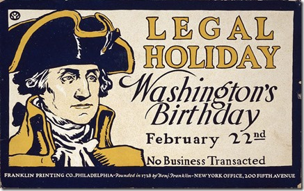 Washingtons Day