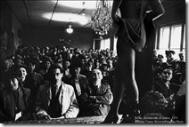 1951Berlin. Auction sale of clothes
