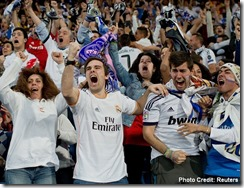 Football-fans emotion