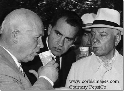 Khrushchev, Nixon and Pepsi