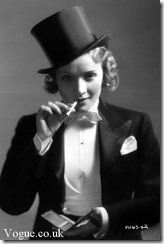 Marlene Dietrich-Tux