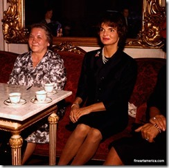 the cold war first ladies Jackie and Nina