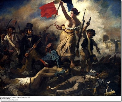 Liberty by Eugene Delacroix