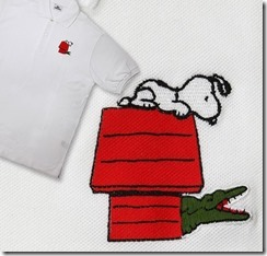 Peanuts x Lacoste 60 Snoopy
