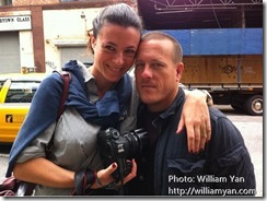 Garance Dore and Scott Schuman