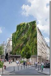 Blanc Vertical garden paris 1