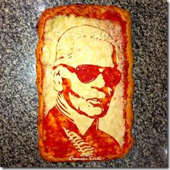 Karl Lagerfeld-pizza-Domenico Crolla