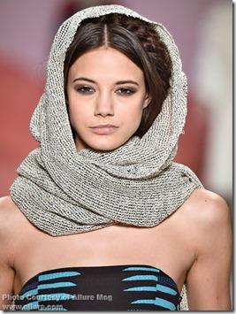 Mara Hoffman fall 2015 SW scarves