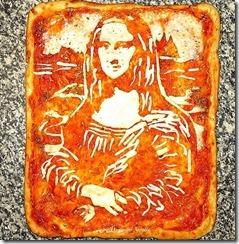 Mona Lisa-pizza-Domenico Crolla