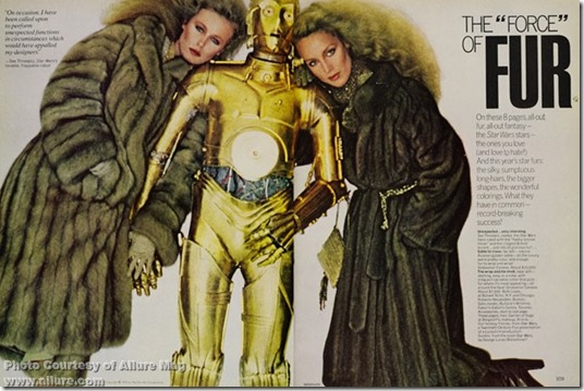 Vogue Star Wars Nov 1977