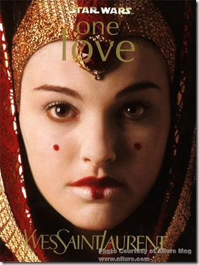 YSL-Padme Amidala One Love makeup 1999