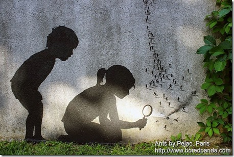 Ants by Pejac