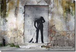 Dust by Pejac