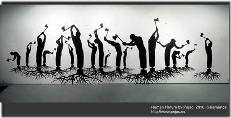 Human Nature by Pejac