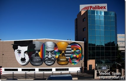Okuda in Madrid