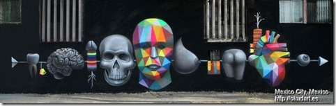 Okuda in Mexico City