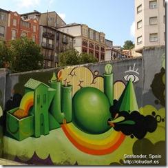 Okuda in Santander
