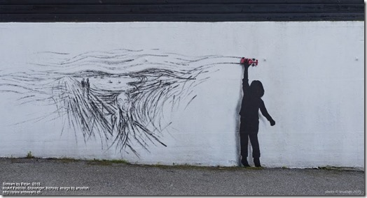 Scream by Pejac