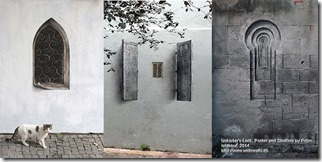 Usküdar's Lock, Poster and Shutters by Pejac