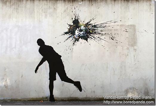 Vandal-ism by Pejac