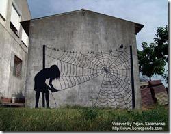 Weaver by Pejac