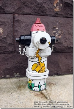 Jazz Snoopy by Hannah Waddington
